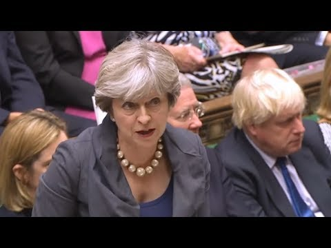 Theresa May answers MPs' questions: 11 October 2017
