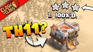 """Clash Of Clans: """"THEY GOT 100%'d!"""" TH11 Vs TH11... WAR INSANITY!"""