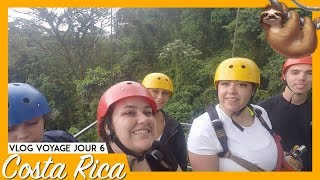 COSTA RICA JOUR 6 : ON FAIT DU ZIPLINE | 99VLOGS