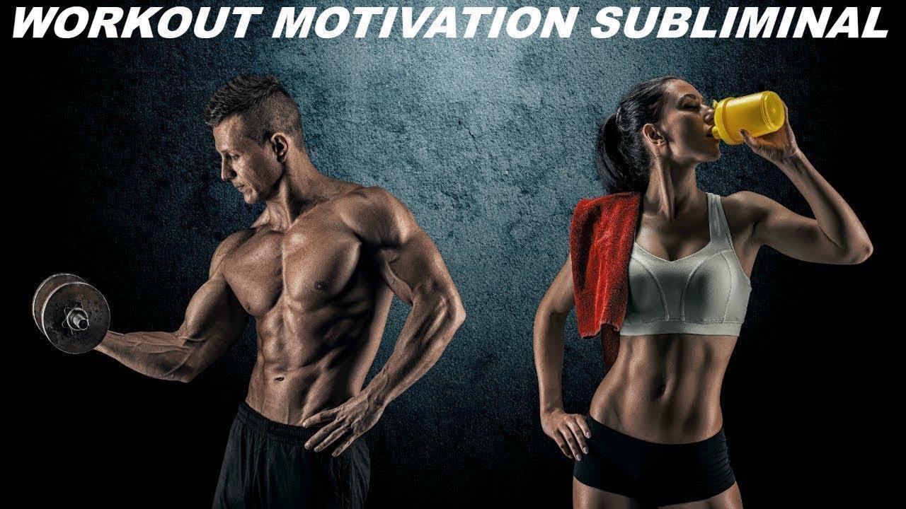 Workout Motivation Subliminal (Audio + Visual)