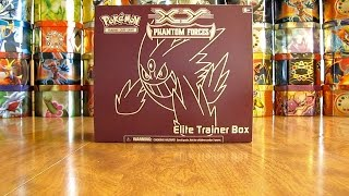Pokemon TCG Elite Trainer Box Opening: Phantom Forces