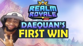 TSM DAEQUAN PLAYS REALM ROYALE  | SHOTGUN + SWORD META!? - AGGRESSIVE LOADOUT AND BUILD | HIGH KILLS