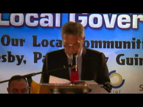 Official Address of Tuvalu Prime Minister at PLGF