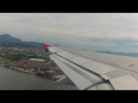 Decolagem A320 TAM Galeão para Belém