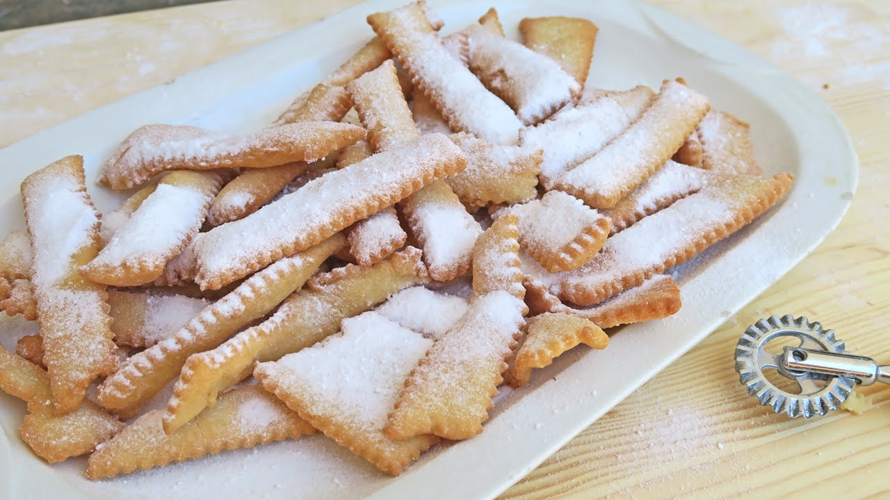 Nonna S Chiacchiere Italian Fried Cookies Recipe Laura