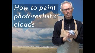 How to paint photorealistic clouds - Trailer