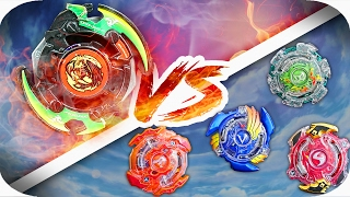 BLACK DRANZER VS BEYBLADE BURST! || Beyblade BATTLE!