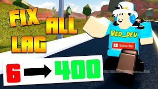 How to FIX LAG in Jailbreak! 400+ FPS! (Roblox)