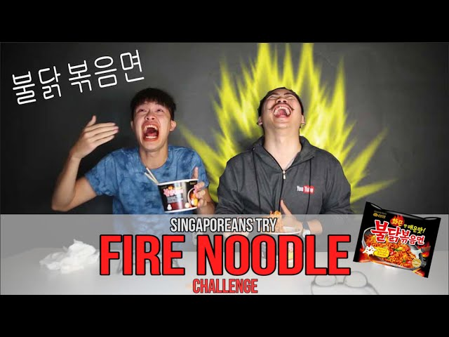 Singaporeans Try: Spicy Noodle Challenge | EP 18