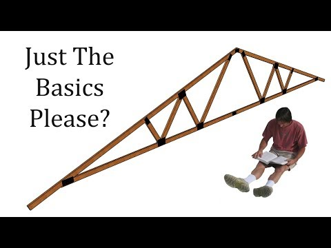 Simple Explanation About Roof Truss Design, Parts And Assembly