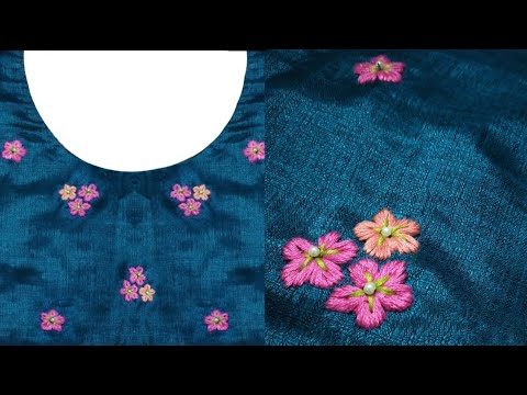 Hand Embroidered All Over Design / Tutorial/ Easy to Learn thumbnail