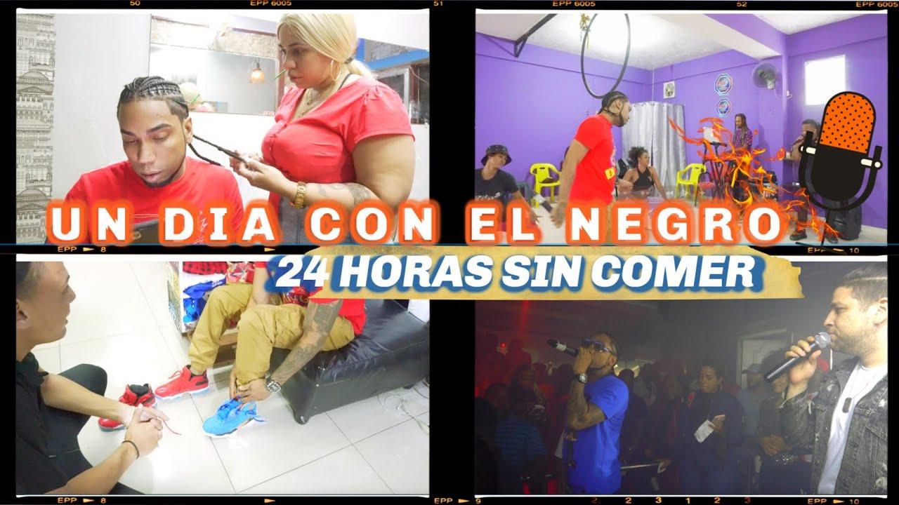 24 HORAS SIN COMER / UN DÍA CON EL NEGRO. #CONTENIDOBjP CAP. 4 ((  Black Jonás Point ))