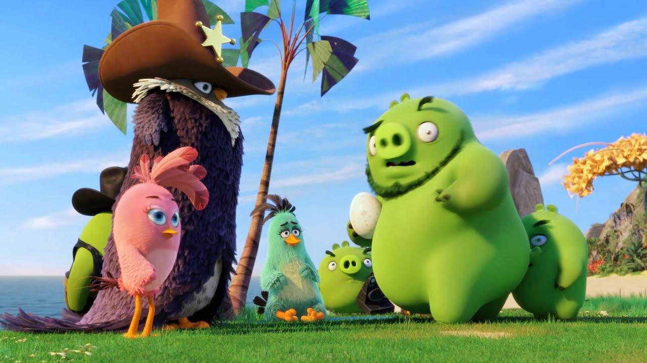 Angry Birds vo filme (trailer F, slovenský dabing)