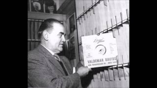 """""""Jeg har i mit hjerte en lille melodi"""" Valdemar Davids med Elo Magnussens orkester"""