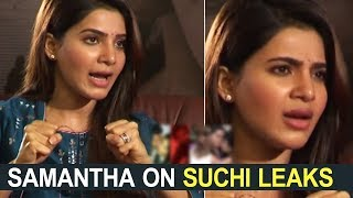 Samantha Expressed Her Pain On Victims Of Suchi Leaks | #MustWatch | TFPC