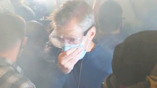 Portland Mayor Tear Gassed While Joining Protesters