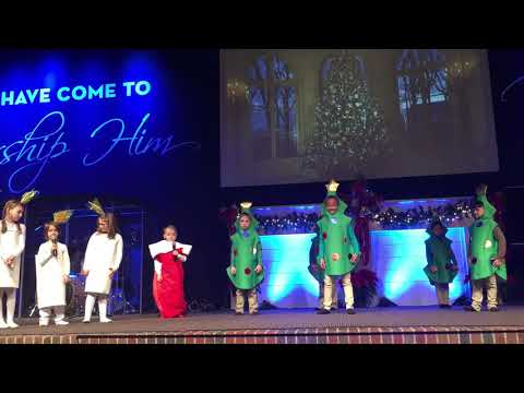 The Church Academy's 1st and 2nd grade Christmas Chapel
