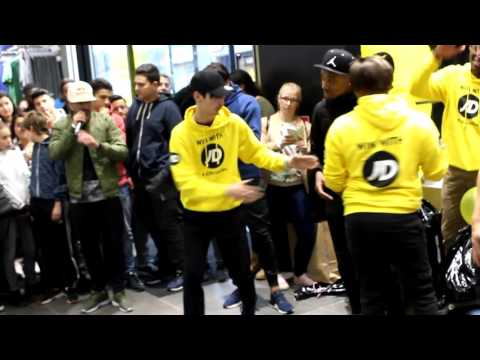 Ouverture JDsports Brussels - Freestyle Football