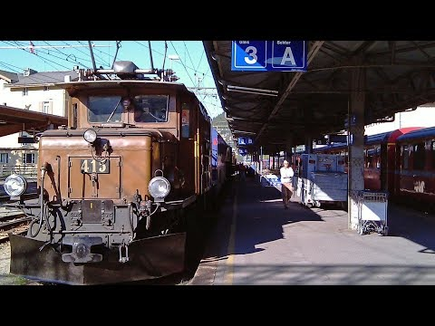 Glacier-Express Teil II Von Brig nach Disentis