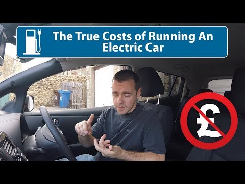 True Running Costs Of An Electric Car!