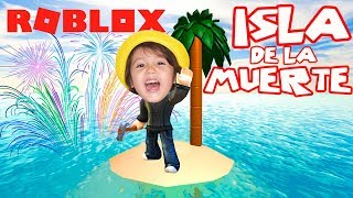 MY FIRST TRIUNFO IN THE ISLAND OF DEATH / ROBLOX / GAMEPLAY IN SPANISH