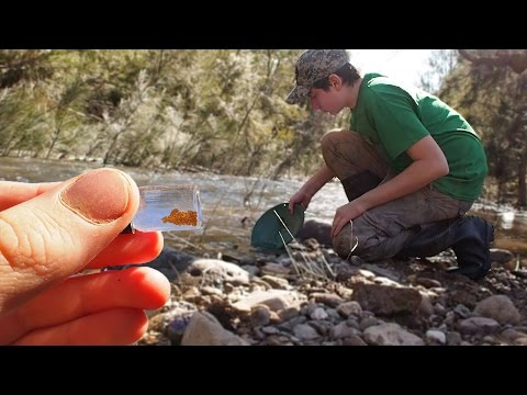#87 WE FOUND GOLD!!! Prospecting For Gold In Australia