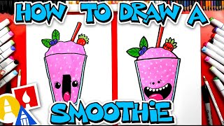 How To Draw A Funny Frozen Fruit Smoothie