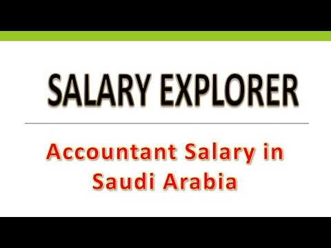 Accountant Salary in Saudi Arabia