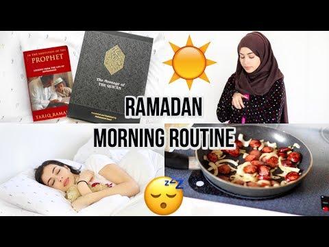 MY RAMADAN MORNING ROUTINE | 2017