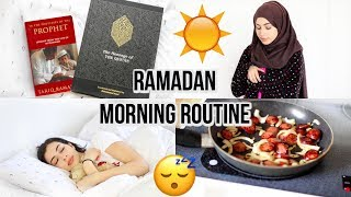 MY RAMADAN MORNING ROUTINE | 2017 Daniela M Biah