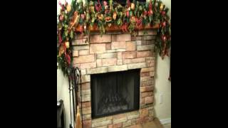 Christmas Decorations For Fireplace Mantels