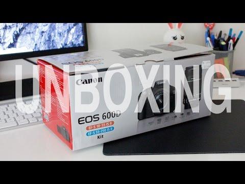 Canon EOS 600D Unboxing