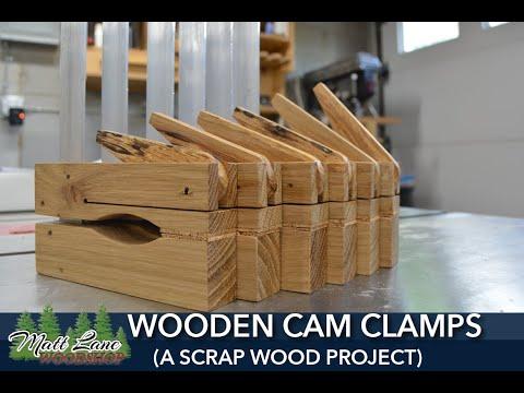 Wooden Cam Clamps (A scrap wood project)