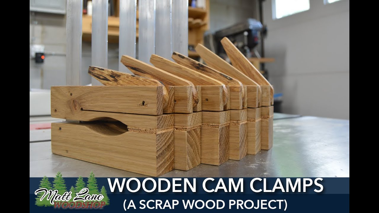 Wooden Cam Clamps A Scrap Wood Project