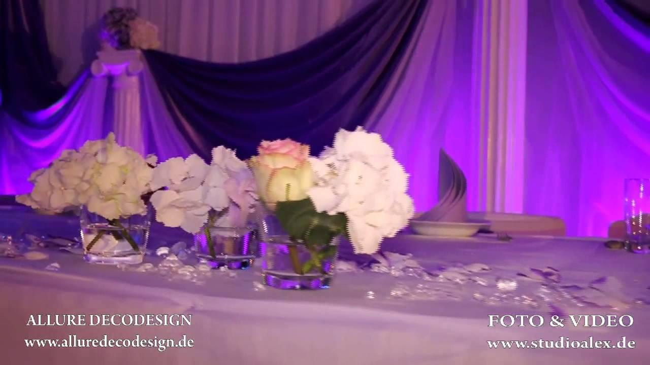 Dekoration Hochzeit Hochzeitsdekoration Bayern  YouTube