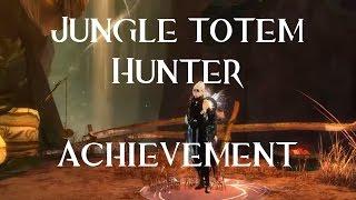 Guild Wars 2 - Jungle totem hunter achievement - Succès Chasseur de totems de la jungle
