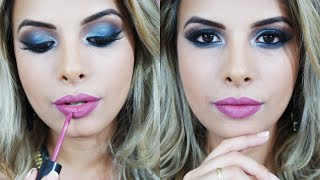 Make Smokey Eyes Azul