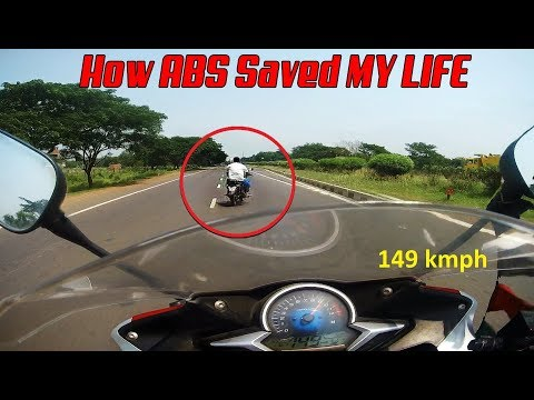 How ABS Saved My Life | CBR 250R | Almost Crashed