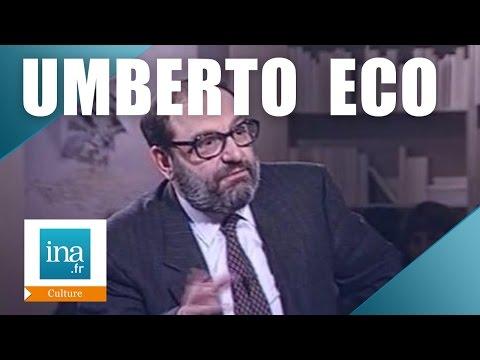 "Apostrophes : Umberto Eco  ""Le pendule de Foucault"" | Archive INA"