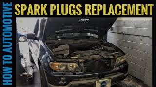 How to Replace Spark Plugs on a BMW X5 with a 3.0 L M54 Engine