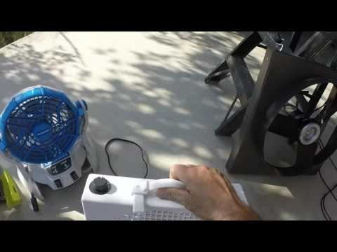 Solar Panel Direct Fan Off Grid Cooling Battery Free