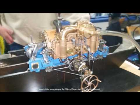 NAMES Show April 2017 Sights and Sounds Working Model Steam, Gas, and Stirling Cycle Engines  Part 2