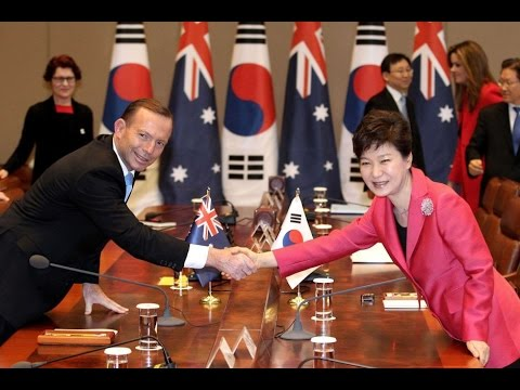 Free Trade Agreement FTA for Australia & South Korea