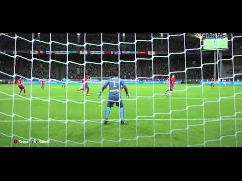 FIFA 16 : Joli but de Maxime Gonalons ( LYON )