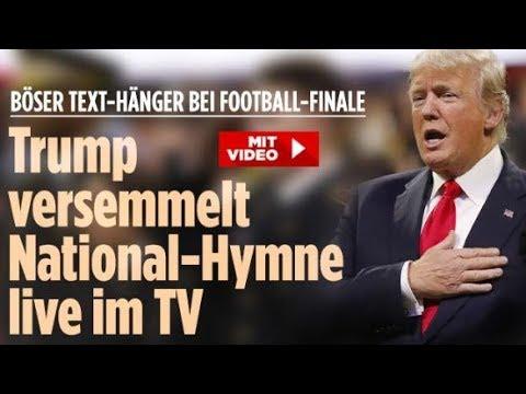 Trump versemmelt Nationalhymne der USA / Sex-Hefte im Knast / Transgender - Die aktuellen News