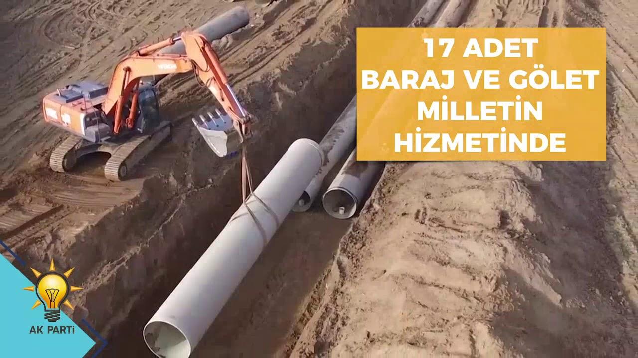 İşte Mersin'e Baraj ve Gölet Yatırımları
