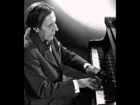 """Alfred Cortot plays Bach """"Aria"""" (rec. 1948)"""