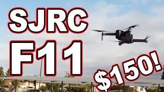 Mavic Pro Killer? // SJRC F11 $150 GPS Drone 💲🚁