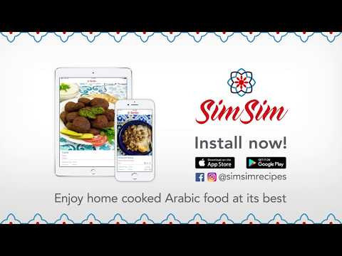 SimSim - Recipes for delicious home cooked Arabic food