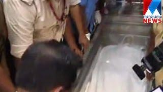 Jishnu raghavan no more. Dead body ody taking out to hospita | ജിഷ്ണു രാഘവന് | Manorama News
